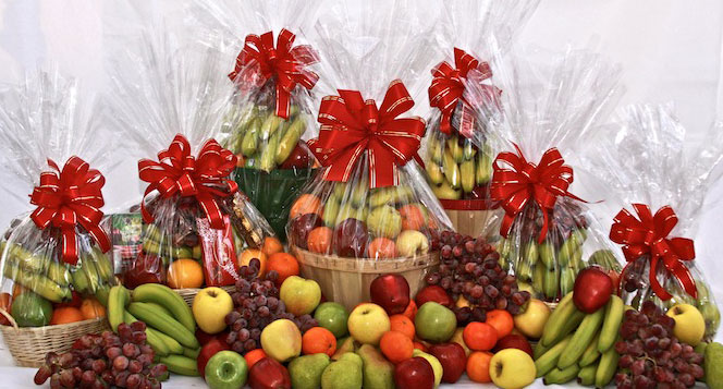 fruit gourmet gift baskets at horrocks market serving greater